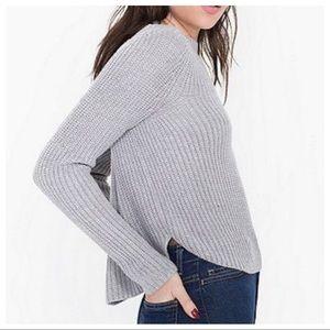 American Apparel Aslan Sweater in Silverfox Sz M